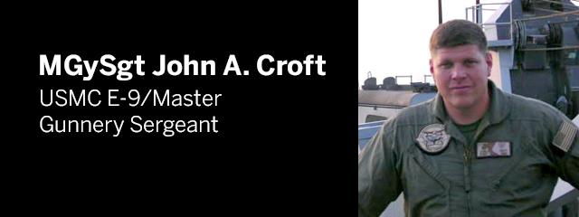MGySgt John A. Croft